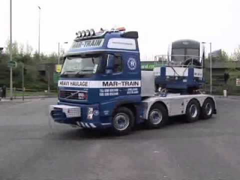 Mar-Train Heavy Haulage - Train Transport