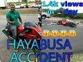 Hayabusa Brutal Accident Speed 300kmph😱😱😱😱😱