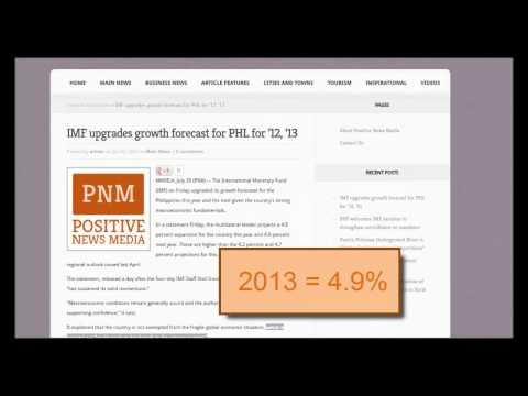 Video: IMF projects higher Philippine's economic growth forecast