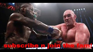Deontay Wilder vs. Tyson Fury 2 LIVE COMMENTARY NO VIDEO