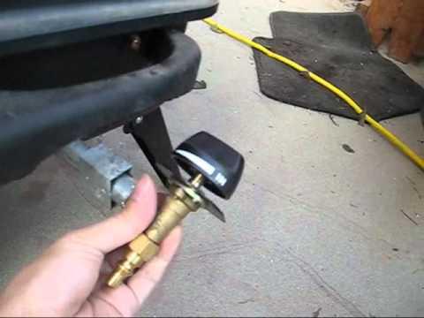 Propane tank hook up parts