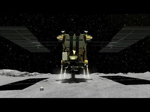 Japan tests asteroid-shooting space cannon