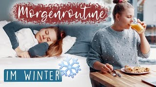 WINTER MORGENROUTINE ❄️ + Getting Ready & Talk! 🙌🏼🔥 - Spontane Uni Morgenroutine!