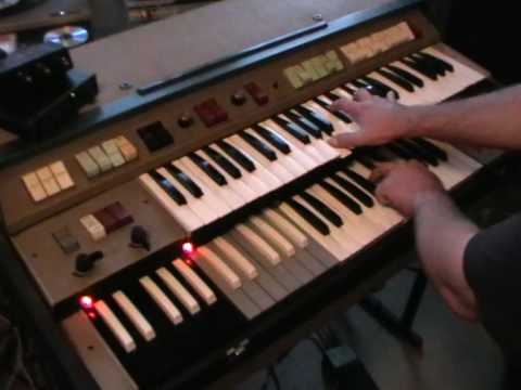 Celestial Voices - Pink Floyd - Richard Wright - Farfisa Compact Duo  Organ Part