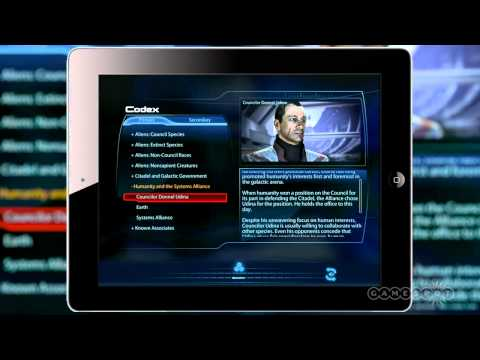 Mass Effect 3 Datapad Overview (iOS)