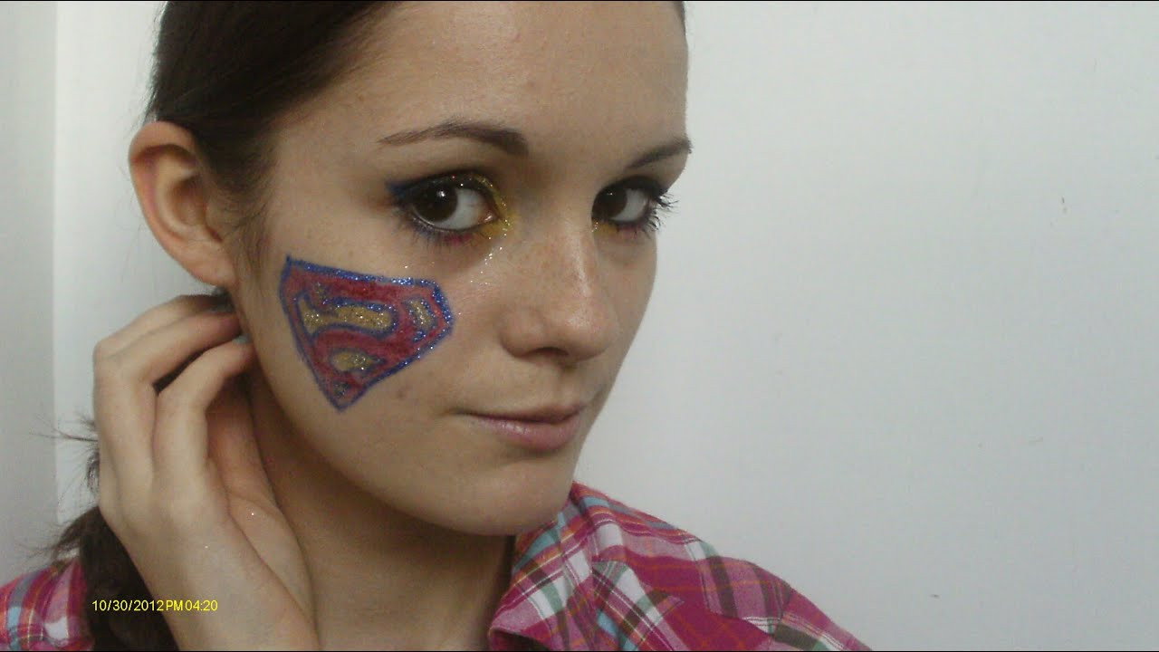Superman Inspired Makeup