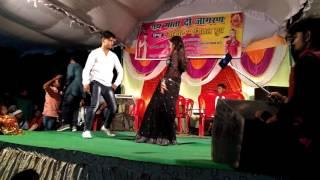 Lagake fairlovely dance abhishek giri with Orchestra girl