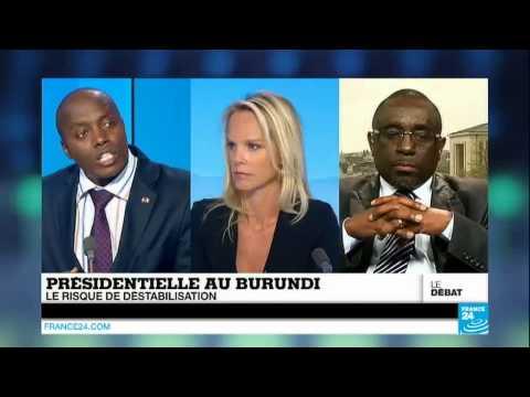 Débat entre CIMPAYE Pancrace et l'ambassadeur du Burundi en France