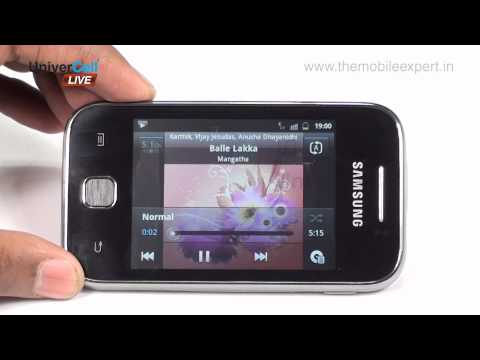 Samsung S5360 Galaxy Y - UniverCell The Mobileexpert Reviews
