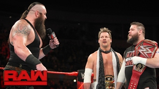 Braun Strowman demands his WWE Universal Title opportunity: Raw, Jan. 30, 2017