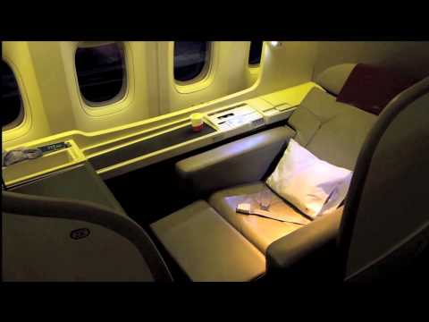JAPAN AIRLINES NEW FIRST CLASS SUITE TOUR
