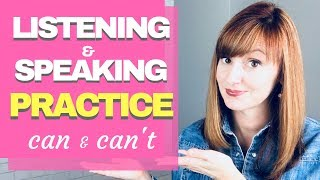 Listening and Speaking Practice: CAN and CAN'T