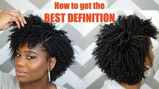 How To Get The Most Defined Flat Twist-Out  | MissKenK
