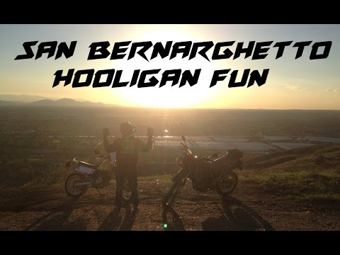 San Bernarghetto Hooligans + Things to do while invisible (Dual Vlog)
