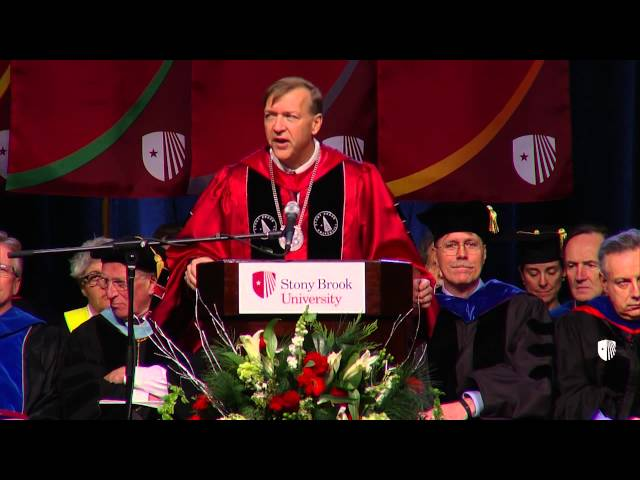 President's Address: Stony Brook University 17th Annual Winter Commencement