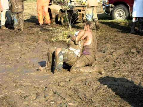 red bank poker run    some mud wrestling :)
