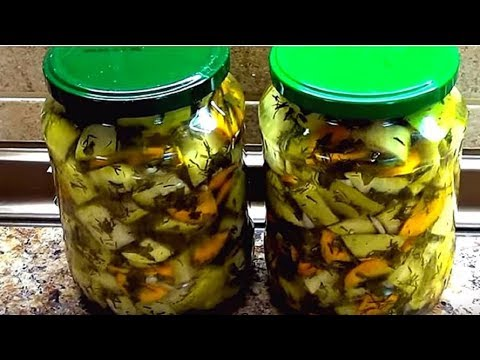 Суперские кабачки на зиму. Как грибы - очень вкусные и ароматные.