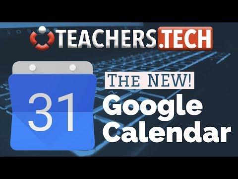 The NEW! Google Calendar - Tutorial