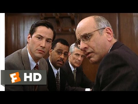 The Devil's Advocate (1/5) Movie CLIP - Jury Selection (1997) HD
