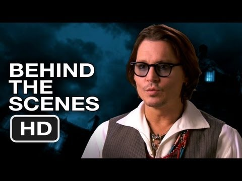 Dark Shadows Behind The Scenes (2012) Tim Burton, Johnny Depp Movie HD