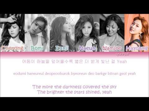 Apink (에이핑크) - Remember (리멤버) (Color Coded Han Rom Eng Lyrics)