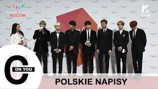 [POLSKIE NAPISY] 171202 BTS - Wywiad na czerwonym dywanie (Melon Music Awards 2017)