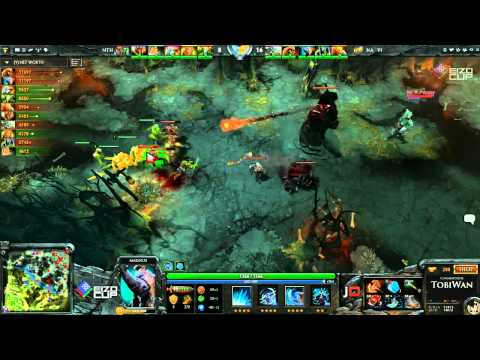 Na'Vi vs No Tidehunter Game 3 - EIZO DOTA2 Cup - TobiWan