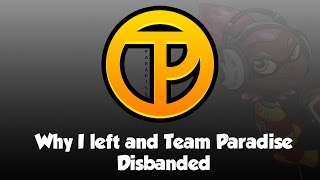 Why DUDE left Team Paradise's Splatoon Competitive Team