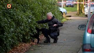 De politie deed uitgebreid onderzoek naar de auto in de Bachlaan.