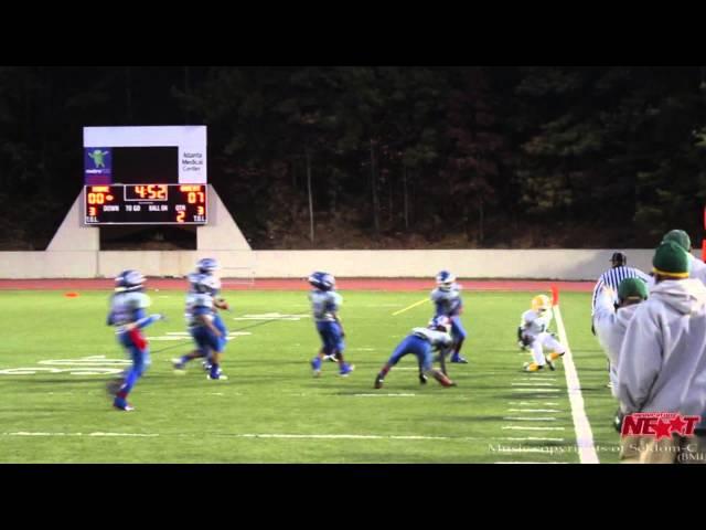 10U GXYFL Superbowl 2013 Gresham Rattlers vs GA Thoroughbreds