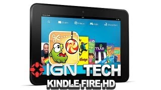 Amazon Announces Kindle Fire HD - IGN Tech
