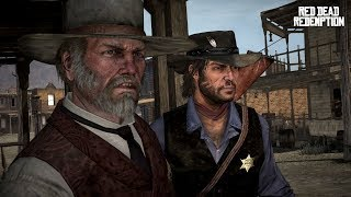 Red Dead Redemption Stories: Marshal Leigh Johnson. All Cut Scenes.