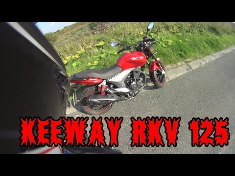 LAST REVIEW OF THE KEEWAY RKV 125