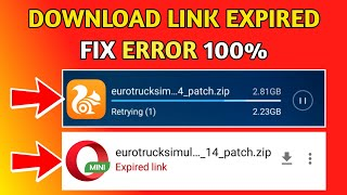 UC Browser Retrying(1) & Download Failed Fix | Opera Mini Expired link fixed | 2018