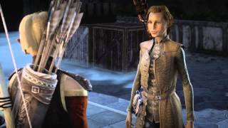 Dragon Age Inquisition - Sera reacts to the various races