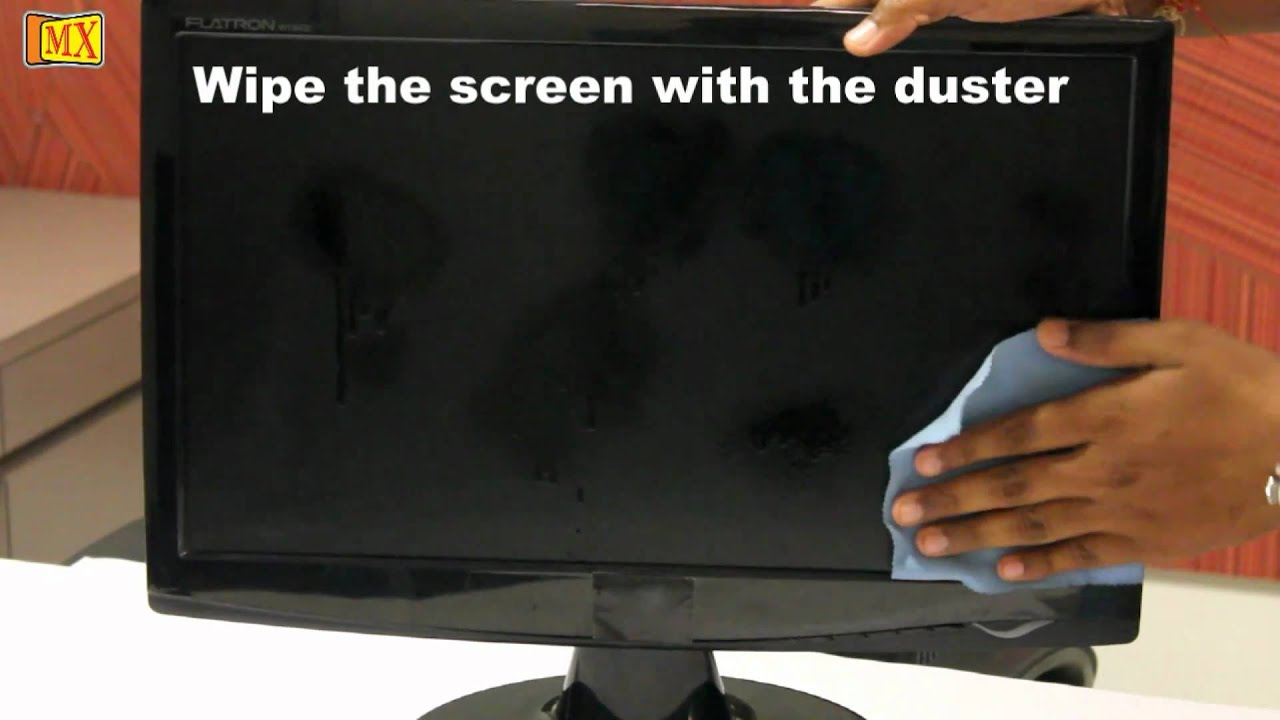 how to properly clean your laptop screen