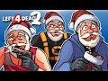 Left 4 Dead 2 - SAVING SANTA! (Xmas Mods) With Vanoss & Moo!