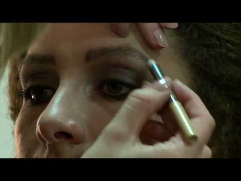 Make-up Tutorial: Nude Lips and Smoky Eye - Clothes Show TV