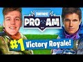 TRAINING For The $3,000,000 E3 Fortnite Pro-Am w/Robbie Amell