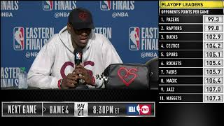 Pascal Siakam Press Conference | Eastern Conference Finals Game 3