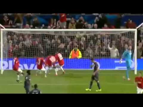Manchester United 3-0 Olympiakos~ All Goals & Highlights