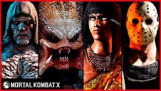Mortal Kombat X Predator, Jason, Tremor, Tanya Fatalities Brutalities X-Ray Intro Ending Compilation