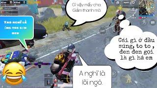 Cực Hài Hước Với Màn 3 Thằng Giả Ngây Ngô Troll Đồng Đội - PUBG mobile.