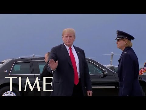 President Trump Acknowledges Trump Tower Meeting Was About Information On Hillary Clinton | TIME