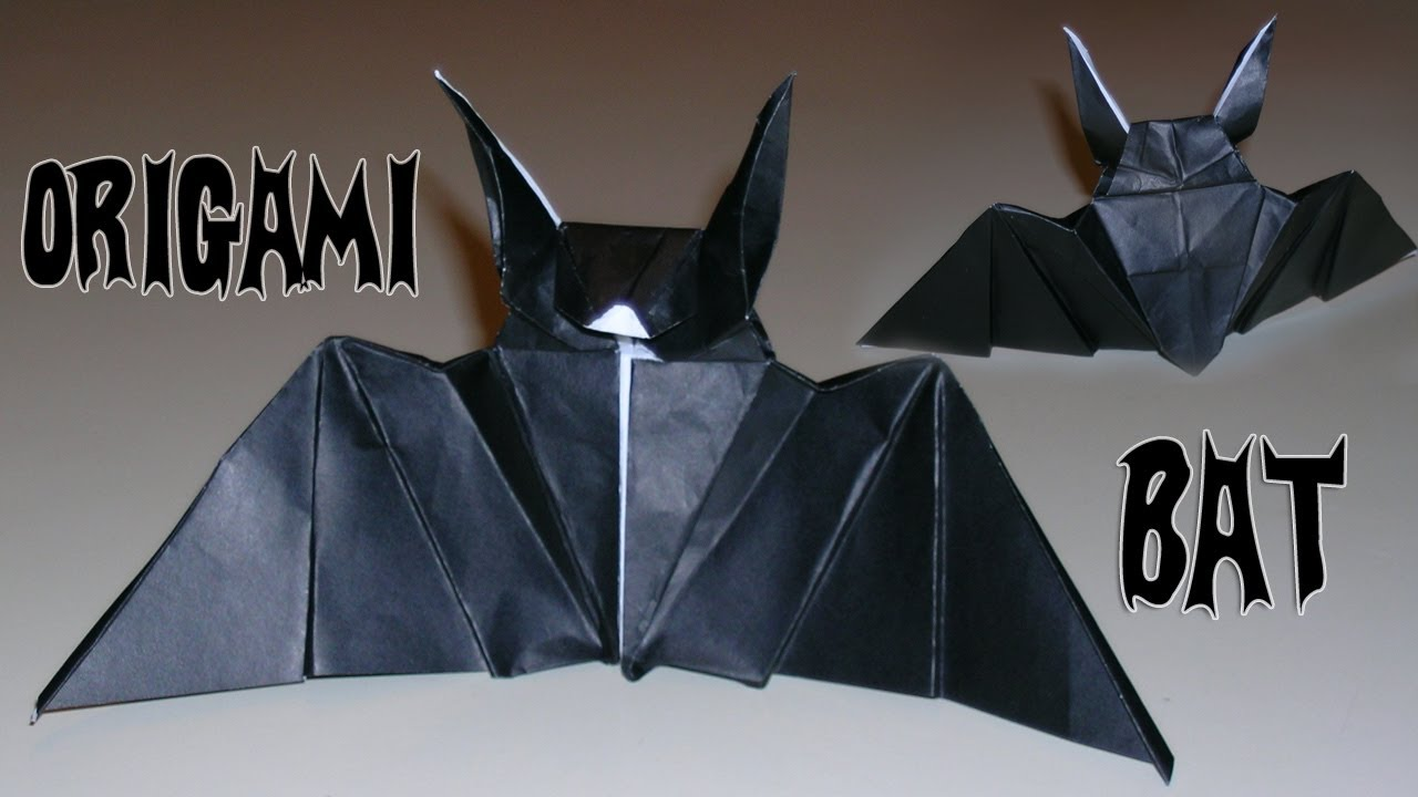 Bat Heart Origami Origami Bat Mantler's Bat