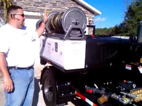 El plomero latino maquina de destapar tuberia con agua a - Limpiar tuberias de cal ...