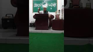 Tamparan keras kyai muda NU kepada islam garis keras...!!!