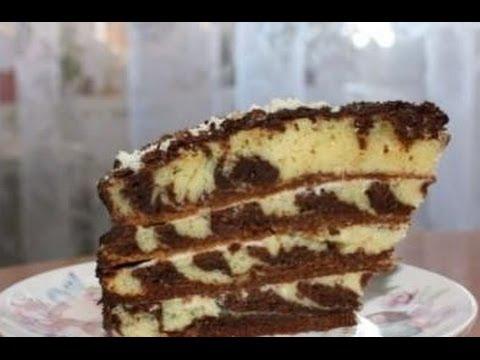 "31. Торт ""Зебра"""