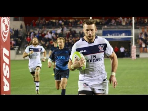 USA vs Argentina 2016 highlights - Americas Rugby Championship 2016