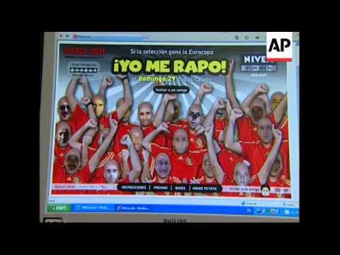 Headlines, vox pops ahead of Russia vs Spain semi-final